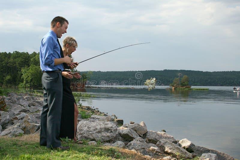 αλιεία δολαρίων στοκ φωτογραφία με δικαίωμα ελεύθερης χρήσης