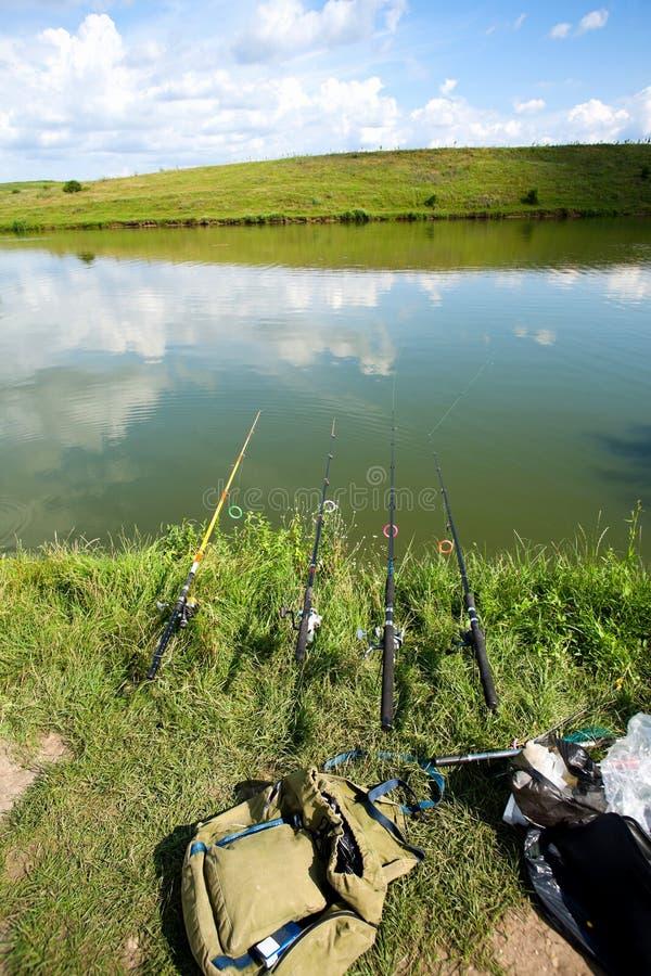 αλιεία του γλυκού νερού στοκ φωτογραφίες