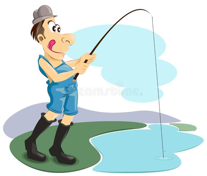 αλιεία ελεύθερη απεικόνιση δικαιώματος