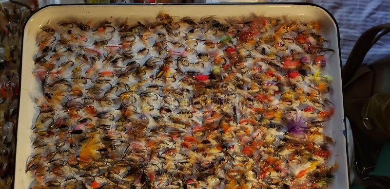 Αλιεία flys στοκ φωτογραφία με δικαίωμα ελεύθερης χρήσης