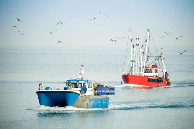 αλιευτικά πλοιάρια στοκ φωτογραφίες