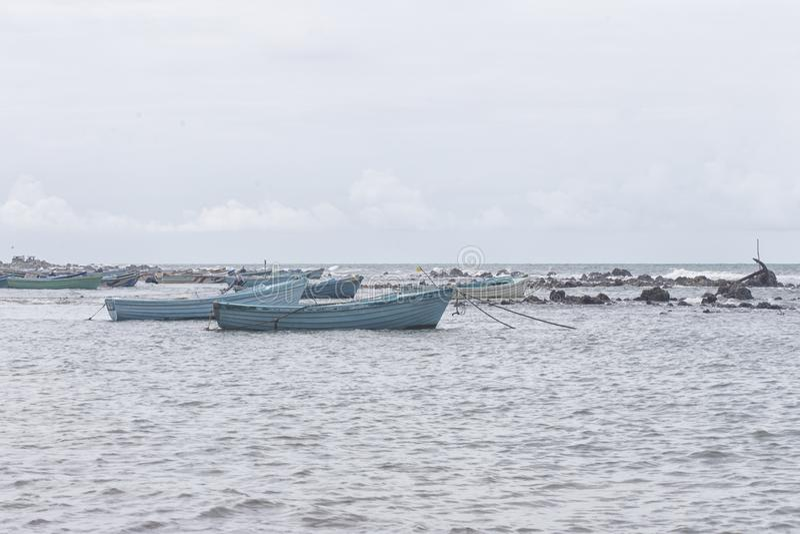 Αλιευτικό σκάφος στο valvattithurai της Σρι Λάνκα στοκ εικόνες με δικαίωμα ελεύθερης χρήσης