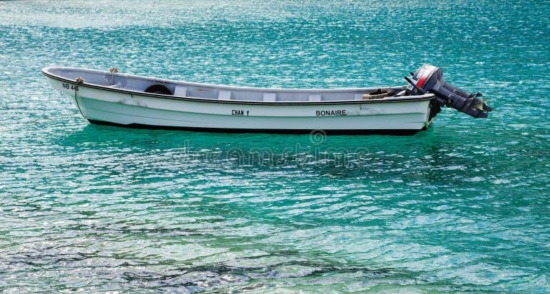 Αλιευτικό σκάφος Bonaire στοκ εικόνες