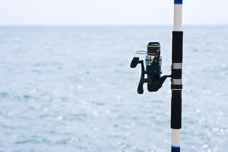 αλιεύοντας εξέλικτρο στοκ εικόνες με δικαίωμα ελεύθερης χρήσης