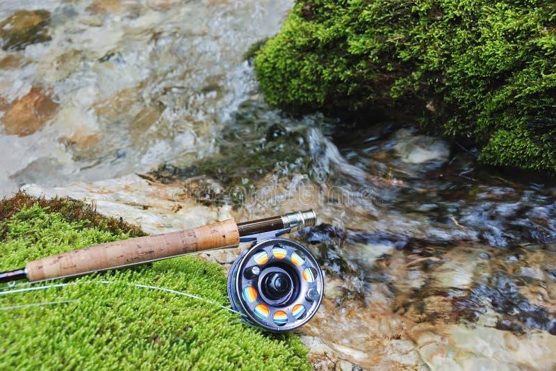 αλιεύοντας εργαλείο μ&upsi στοκ εικόνες