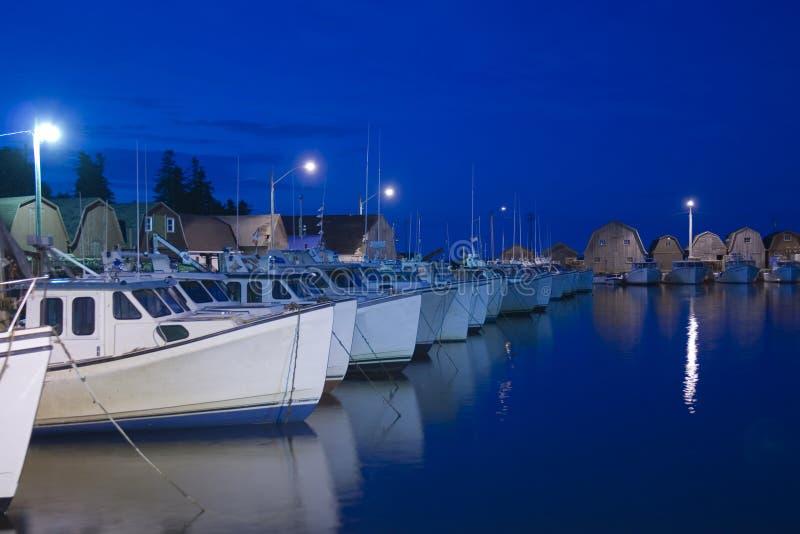 αλιεύοντας λιμάνι στοκ εικόνες με δικαίωμα ελεύθερης χρήσης