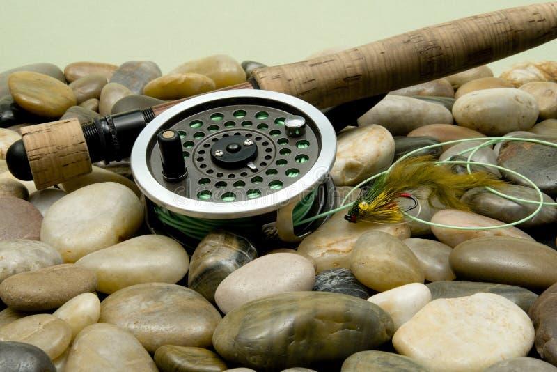 αλιεύοντας μύγα στοκ φωτογραφίες