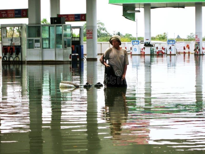αλιεύοντας νερό της πλημμύ στοκ φωτογραφίες με δικαίωμα ελεύθερης χρήσης
