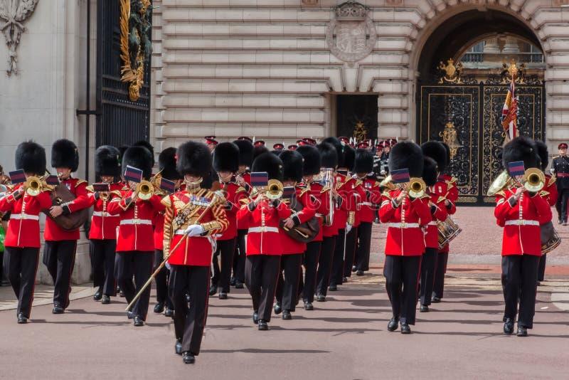 Αλλαγή της φρουράς Λονδίνο στοκ φωτογραφία με δικαίωμα ελεύθερης χρήσης