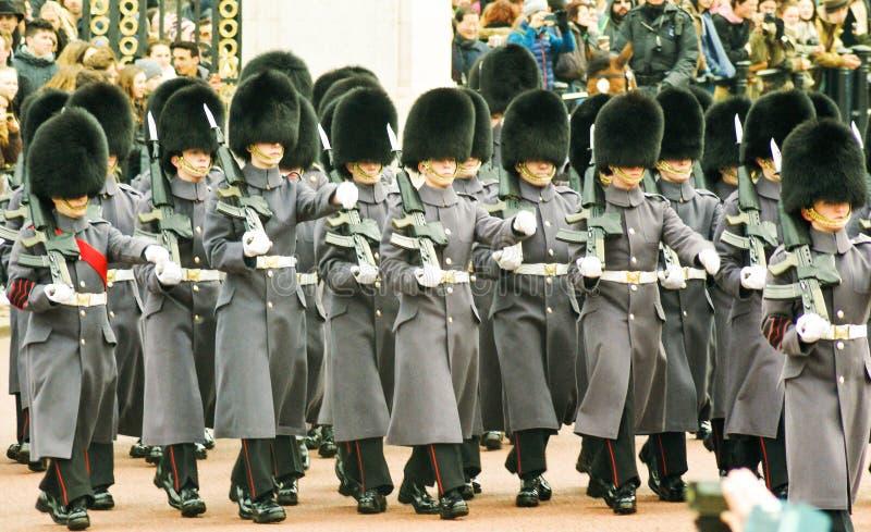 Αλλαγή των φρουρών στο Buckingham Palace στοκ φωτογραφία