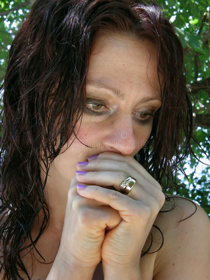 αλλόφρων γυναίκα 2 στοκ εικόνες με δικαίωμα ελεύθερης χρήσης
