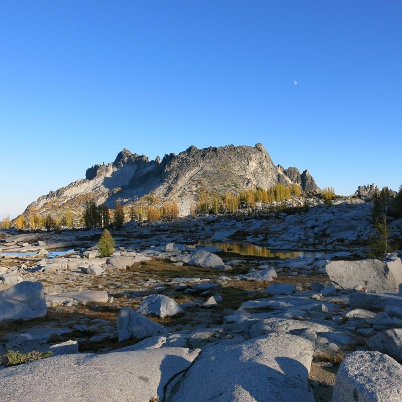 Αλπική περιοχή λιμνών enchantments του πολιτεία της Washington στοκ φωτογραφία με δικαίωμα ελεύθερης χρήσης