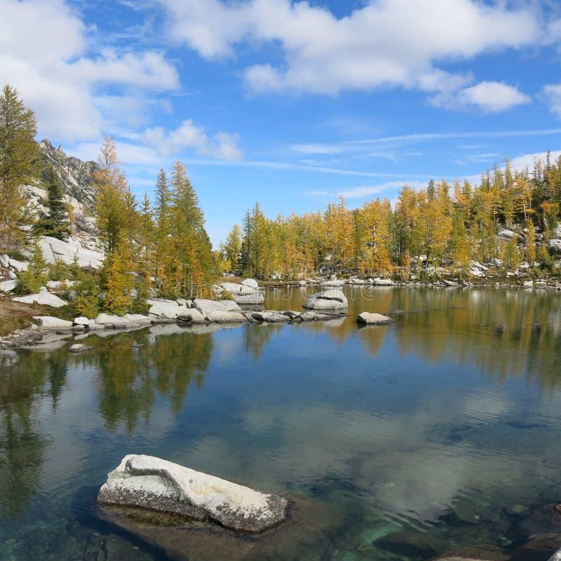 Αλπική περιοχή λιμνών enchantments του πολιτεία της Washington στοκ εικόνα με δικαίωμα ελεύθερης χρήσης
