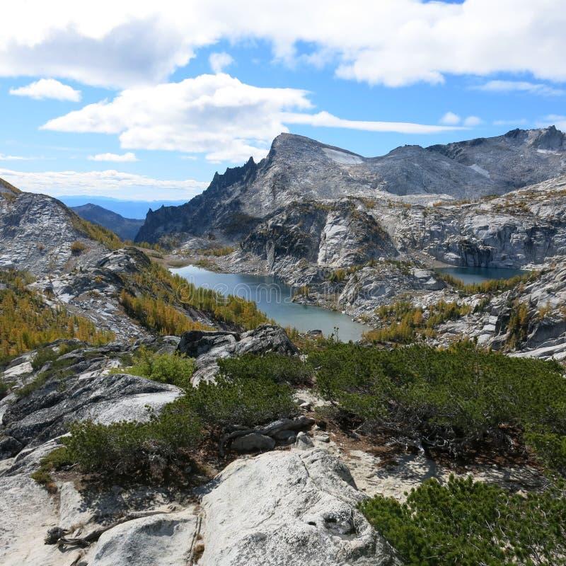 Αλπική περιοχή λιμνών enchantments του πολιτεία της Washington στοκ εικόνα