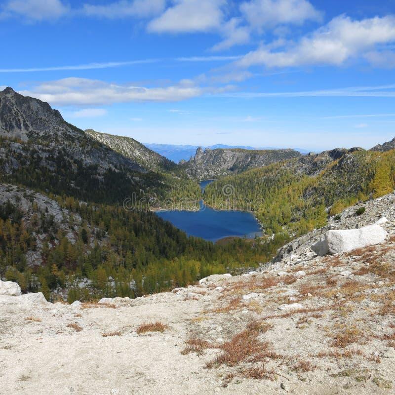 Αλπική περιοχή λιμνών enchantments του πολιτεία της Washington στοκ φωτογραφία