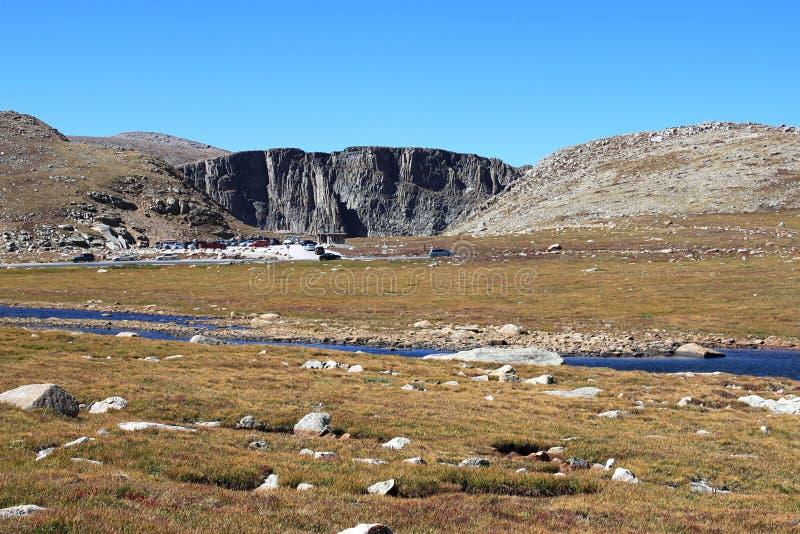 αλπικό αρτικό tundra συνόδου κ&om στοκ εικόνα