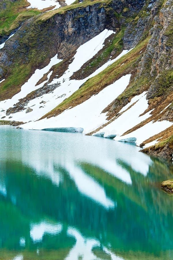 αλπικό καλοκαίρι αντανα&kap στοκ εικόνες με δικαίωμα ελεύθερης χρήσης