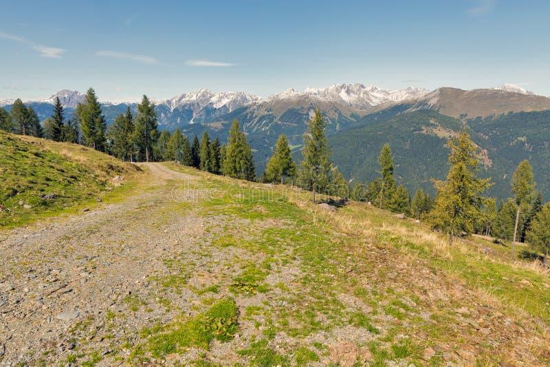 Αλπικό τοπίο σε δυτικό Carinthia, Αυστρία στοκ φωτογραφία