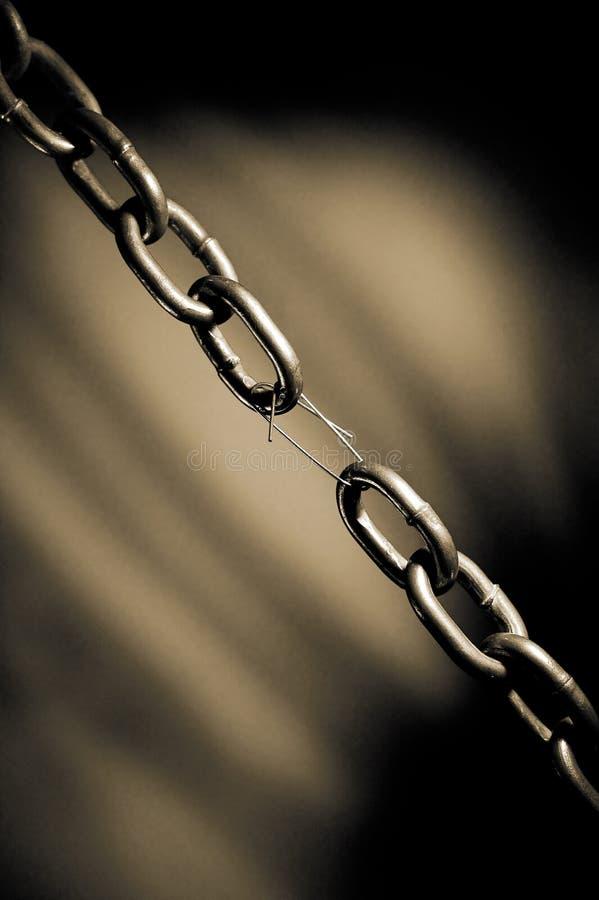 Αλυσίδα σιδήρου στοκ φωτογραφία