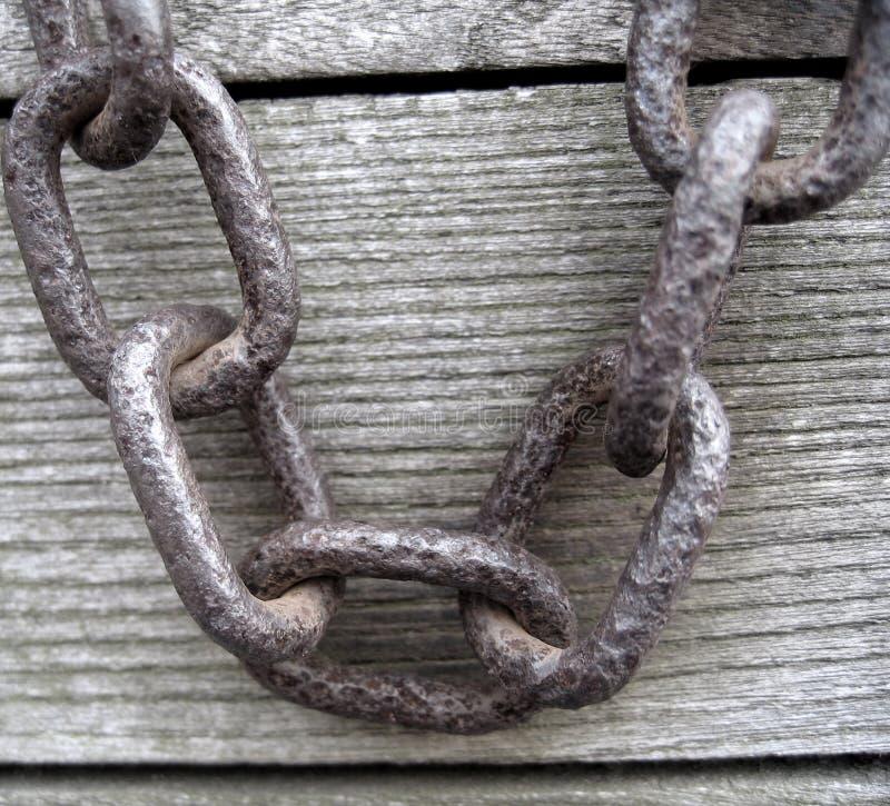 αλυσίδα σκουριασμένη Στοκ φωτογραφίες με δικαίωμα ελεύθερης χρήσης