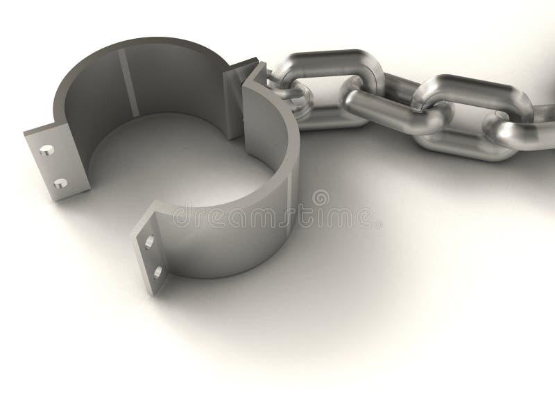 αλυσίδα σφαιρών απεικόνιση αποθεμάτων
