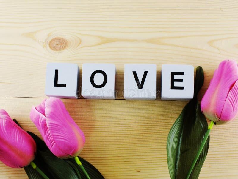 Αλφάβητο επιστολών αγάπης λέξης υποβάθρου ημέρας βαλεντίνων ` s στοκ εικόνες με δικαίωμα ελεύθερης χρήσης