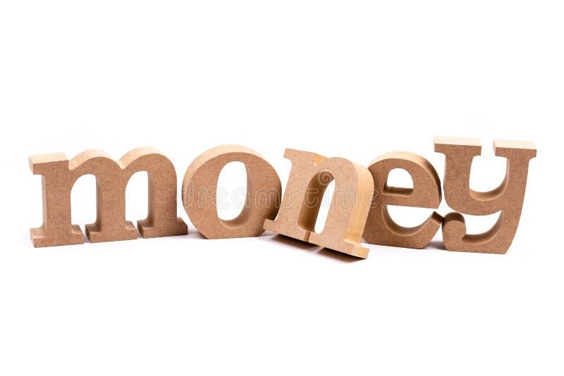 Αλφάβητο του Word χρημάτων που απομονώνεται στοκ φωτογραφία με δικαίωμα ελεύθερης χρήσης