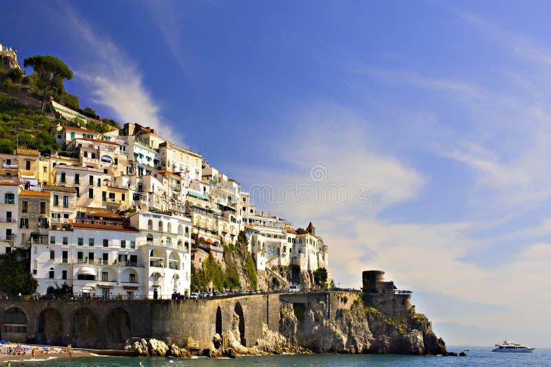 Αμάλφη Ιταλία στοκ φωτογραφίες με δικαίωμα ελεύθερης χρήσης