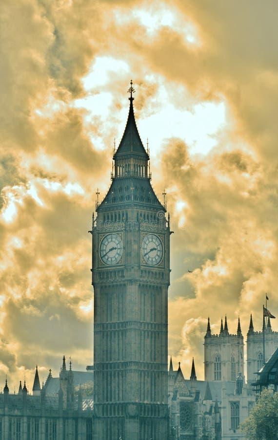 Αμέσως πριν από το σκοτεινό τι ένας όμορφος χρόνος της ημέρας στοκ εικόνα με δικαίωμα ελεύθερης χρήσης