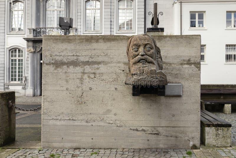 Αμβέρσα, Βέλγιο - 17 Μαρτίου 2019: Μνημείο για το Peter Benoit, πλατεία Wapper στοκ εικόνες με δικαίωμα ελεύθερης χρήσης