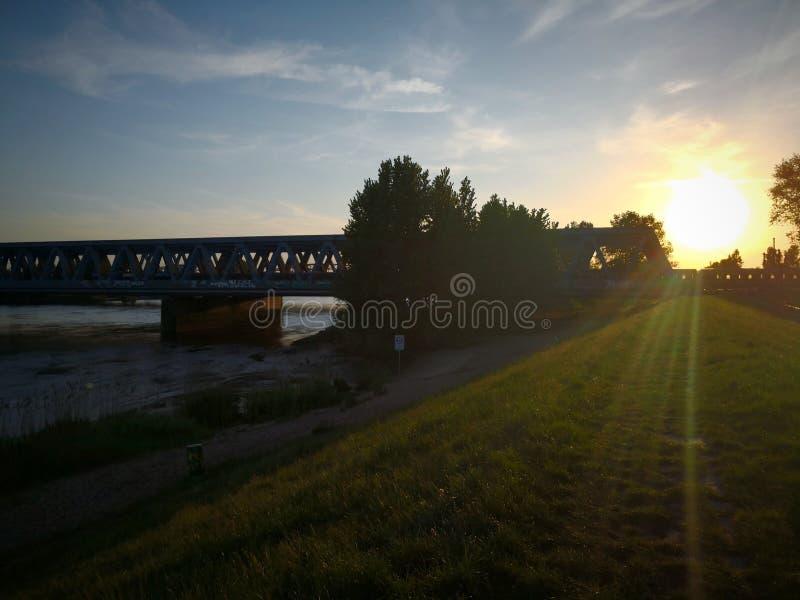 Αμβούργο Elbe στοκ φωτογραφίες με δικαίωμα ελεύθερης χρήσης