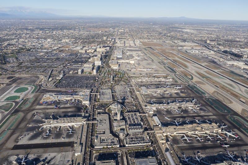 ΑΜΕΛΗΣ και αιώνας Blvd στο Λος Άντζελες στοκ φωτογραφίες με δικαίωμα ελεύθερης χρήσης