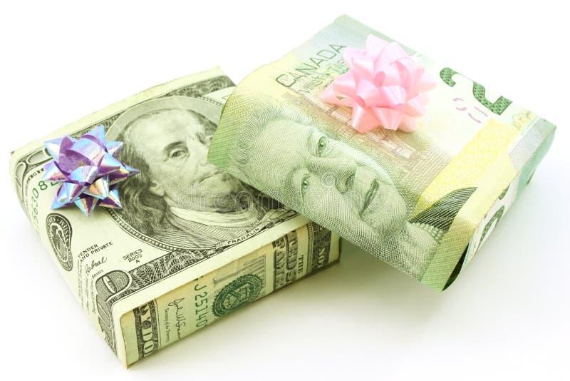 αμερικανικά δώρα καναδικ στοκ φωτογραφία