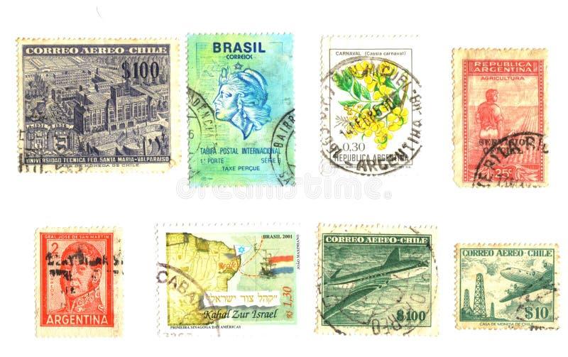 αμερικανικά νότια γραμματόσημα στοκ εικόνες με δικαίωμα ελεύθερης χρήσης