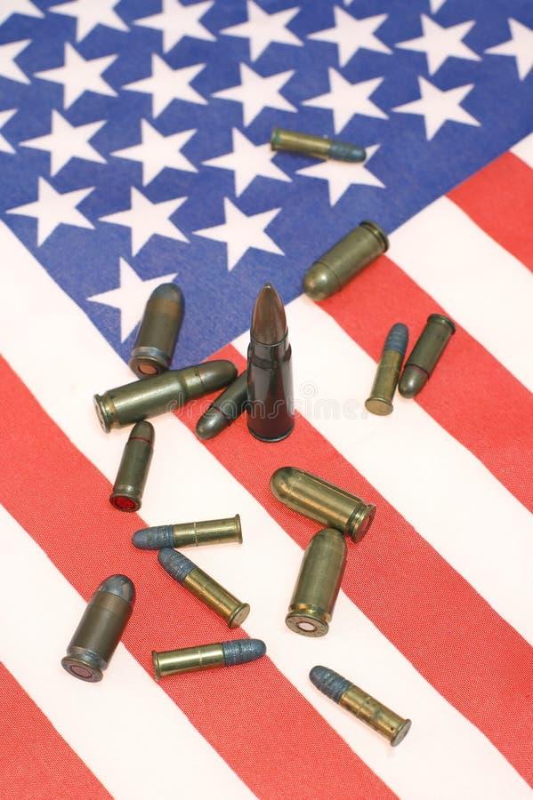 αμερικανικά πυρομαχικά στοκ εικόνες με δικαίωμα ελεύθερης χρήσης