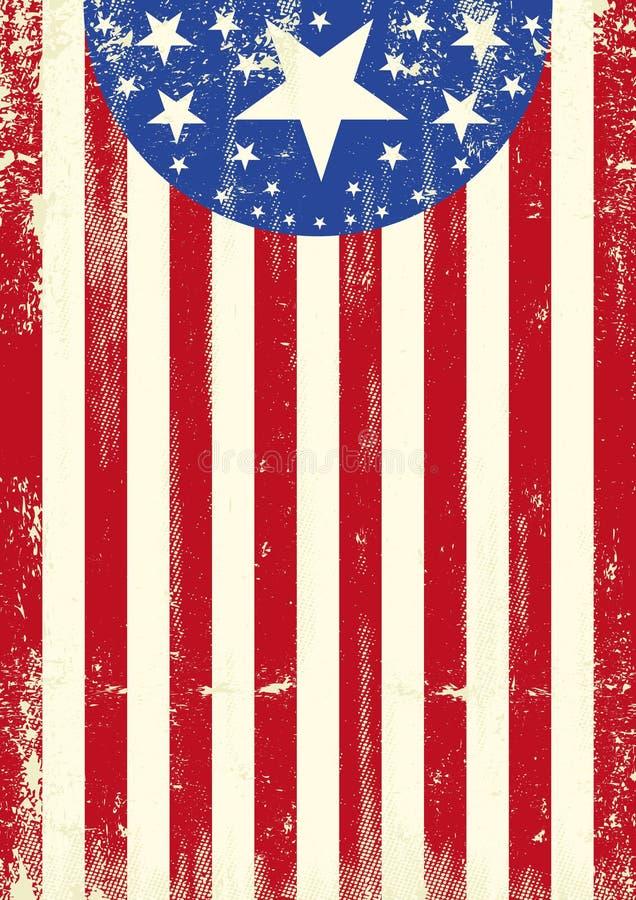 Αμερικανικές πατριωτικές ταπετσαρίες ελεύθερη απεικόνιση δικαιώματος