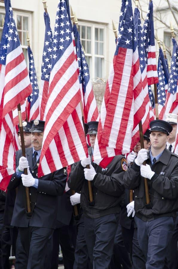 343 αμερικανικές σημαίες στοκ φωτογραφίες με δικαίωμα ελεύθερης χρήσης