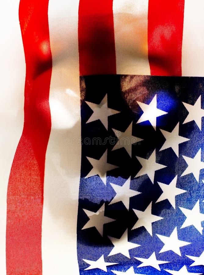 αμερικανική έννοια νεκρή στοκ εικόνες