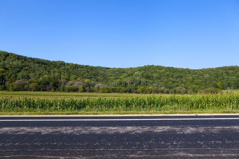 Αμερικανική εθνική οδός στοκ εικόνα με δικαίωμα ελεύθερης χρήσης