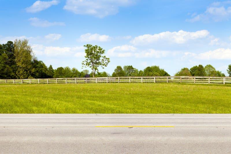 Αμερικανική εθνική οδός στοκ φωτογραφία