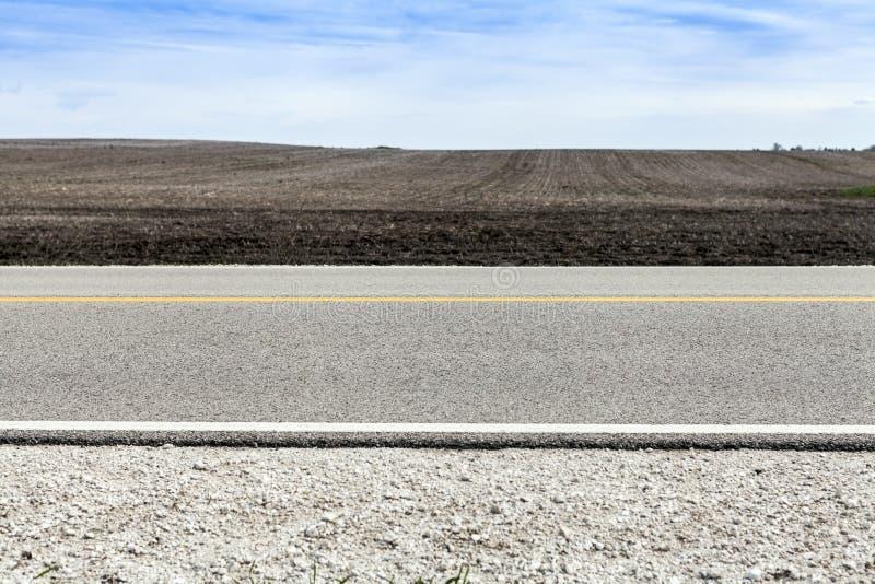 Αμερικανική εθνική οδός στοκ φωτογραφία με δικαίωμα ελεύθερης χρήσης