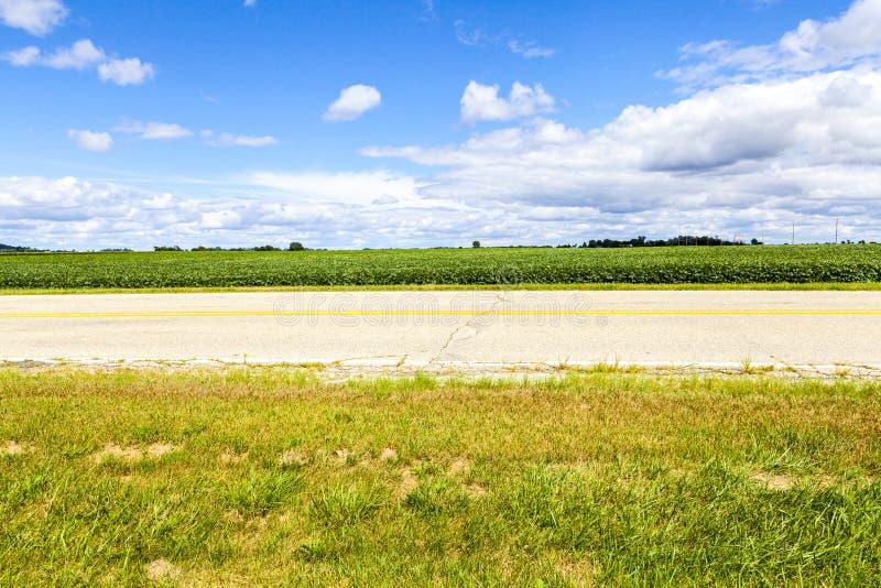 Αμερικανική εθνική οδός στοκ εικόνες