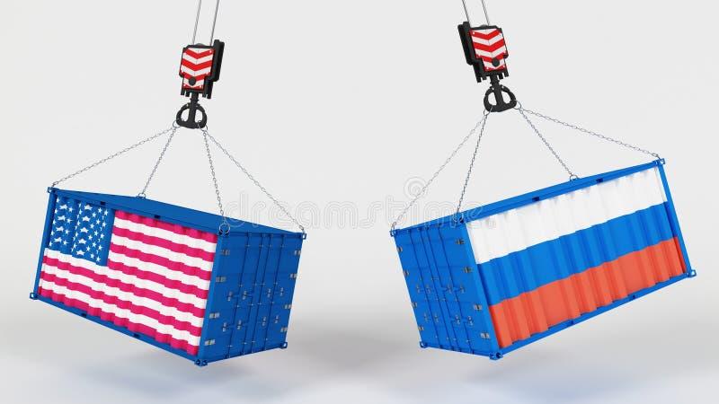 Αμερικανική εισαγωγή Tarrifs απεικόνιση αποθεμάτων