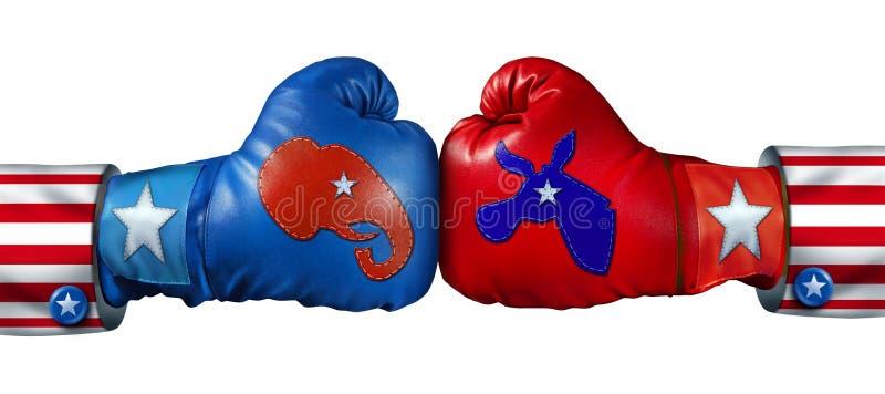 Αμερικανική εκλογή διανυσματική απεικόνιση