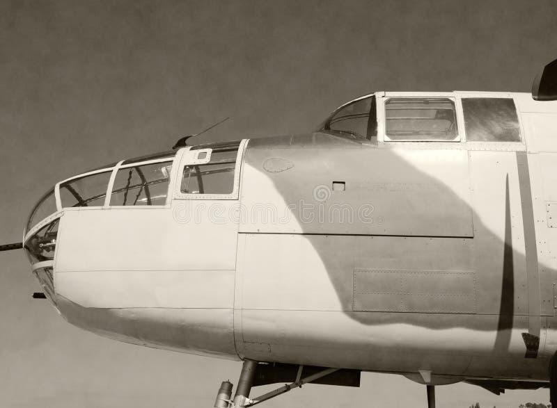 αμερικανική εμπόλεμη περίοδος βομβαρδιστικών αεροπλάνων στοκ εικόνα με δικαίωμα ελεύθερης χρήσης