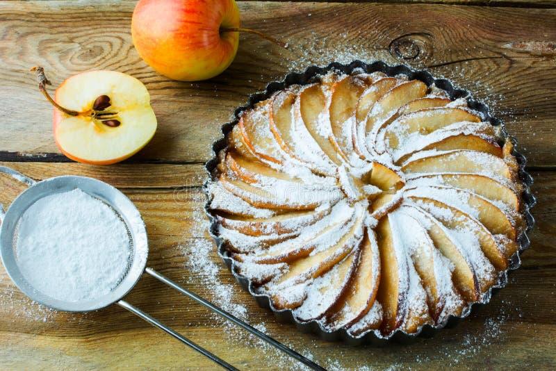 αμερικανική πίτα μήλων στοκ φωτογραφίες με δικαίωμα ελεύθερης χρήσης