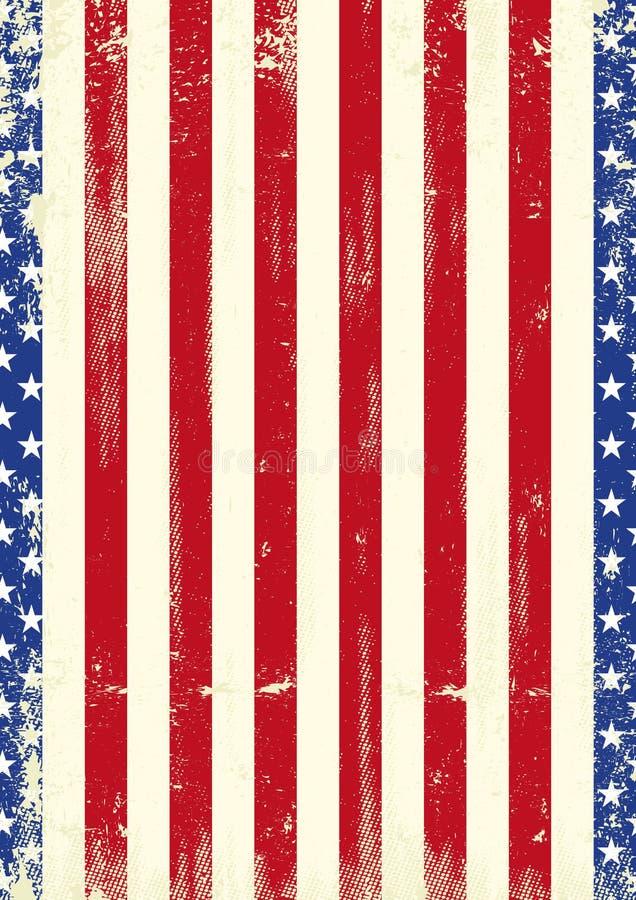 Αμερικανική πατριωτική ταπετσαρία ελεύθερη απεικόνιση δικαιώματος