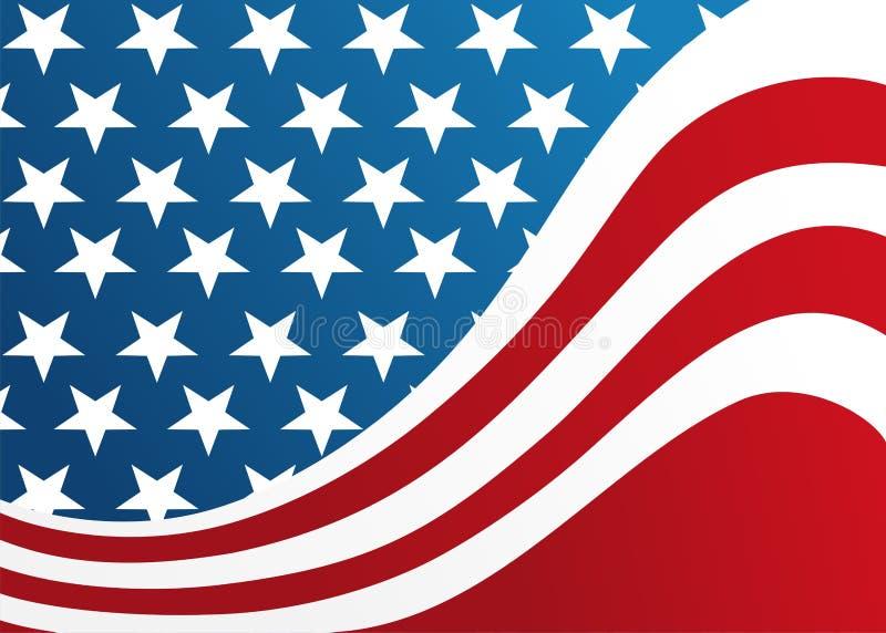 αμερικανική σημαία απεικόνιση αποθεμάτων