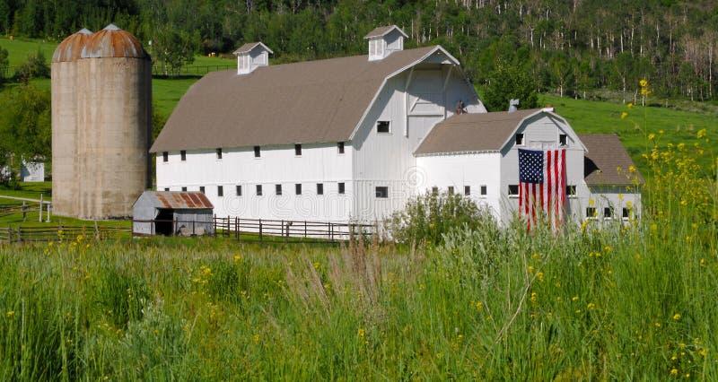Αμερικανική σιταποθήκη χώρας στοκ εικόνες