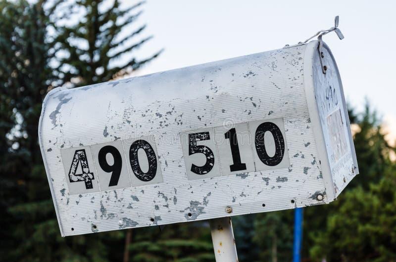 αμερικανική ταχυδρομική θυρίδα στοκ φωτογραφίες